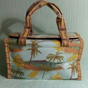 🌴Avon tropical bananas makeup bag